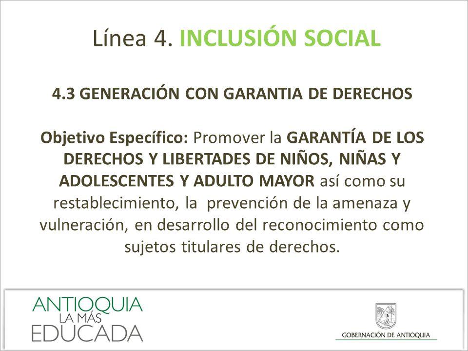4.3 GENERACIÓN CON GARANTIA DE DERECHOS