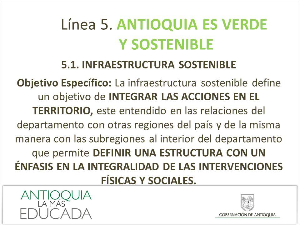 5.1. INFRAESTRUCTURA SOSTENIBLE