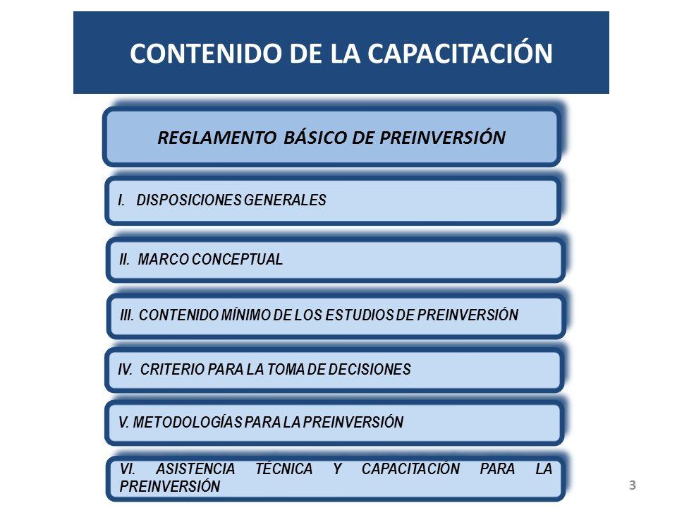 CONTENIDO DE LA CAPACITACIÓN