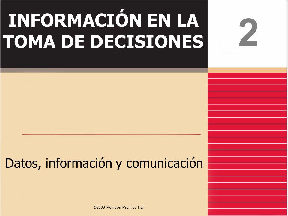 INFORMACIÓN EN LA TOMA DE DECISIONES