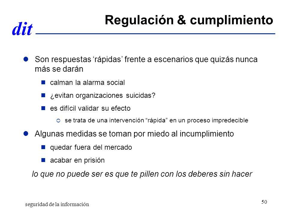 Regulación & cumplimiento