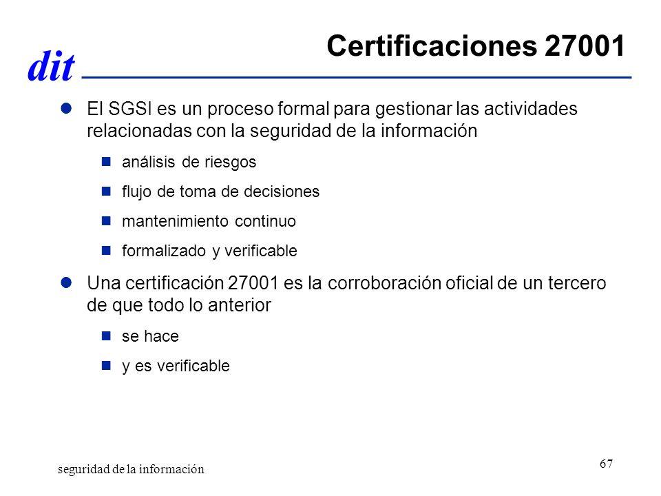 Certificaciones 27001 El SGSI es un proceso formal para gestionar las actividades relacionadas con la seguridad de la información.