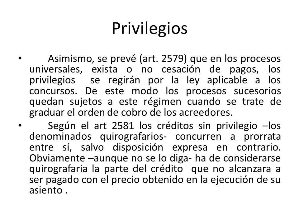 Privilegios