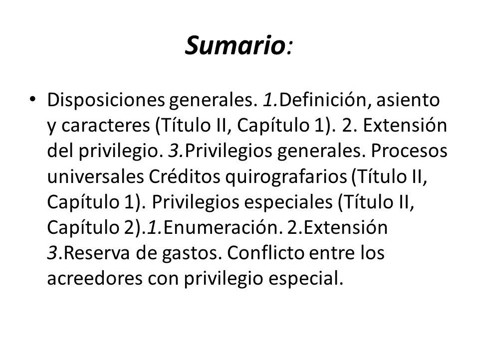 Sumario: