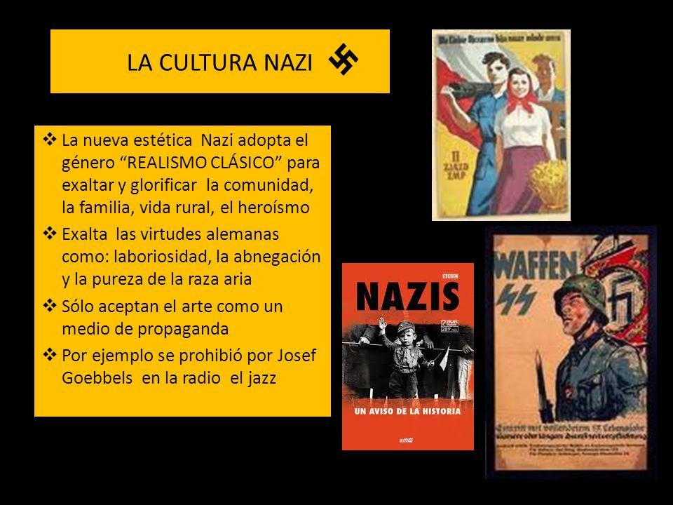 LA CULTURA NAZI