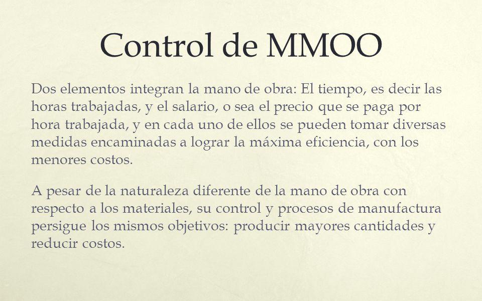 Control de MMOO