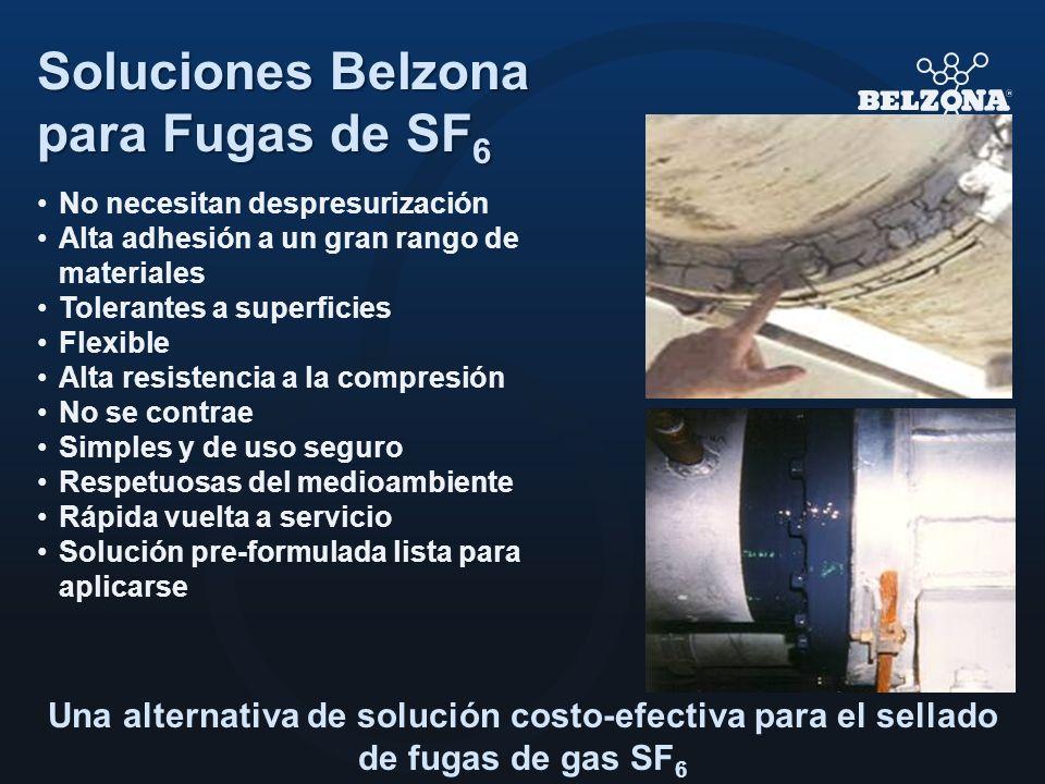 Soluciones Belzona para Fugas de SF6