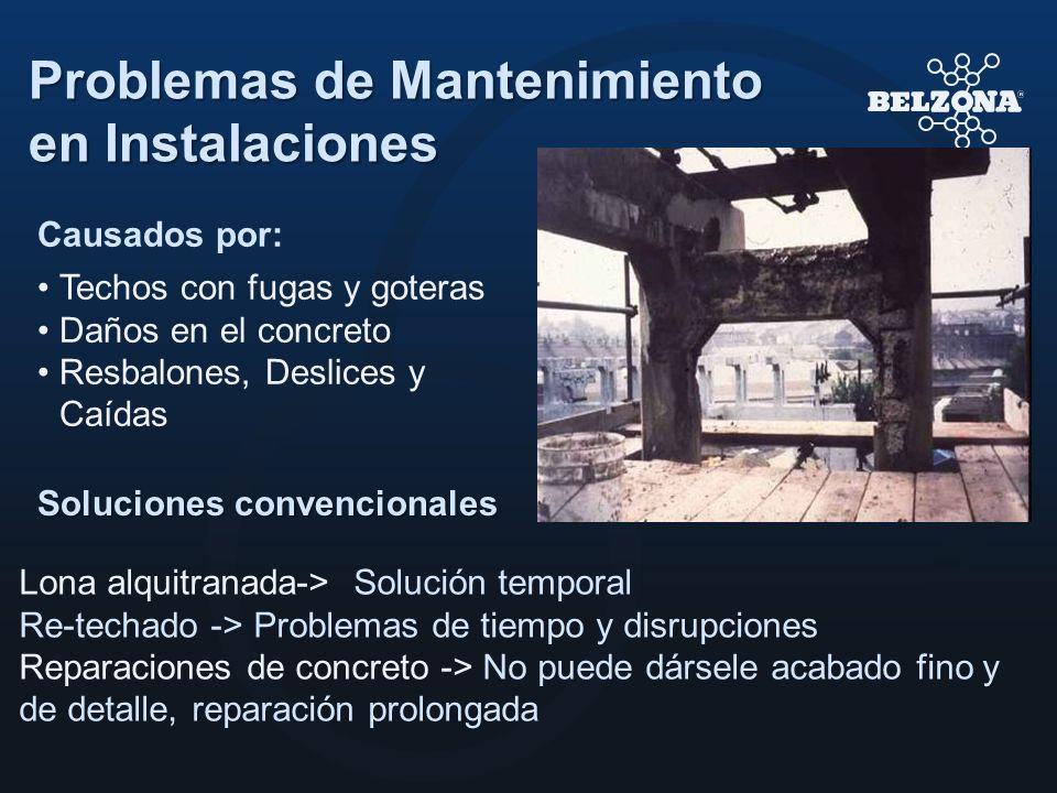 Problemas de Mantenimiento en Instalaciones