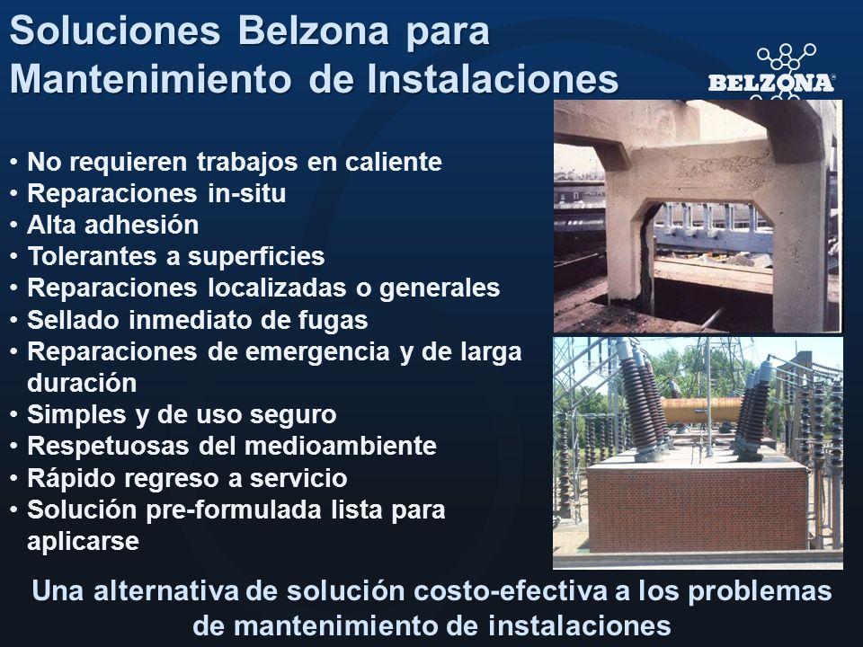 Soluciones Belzona para Mantenimiento de Instalaciones