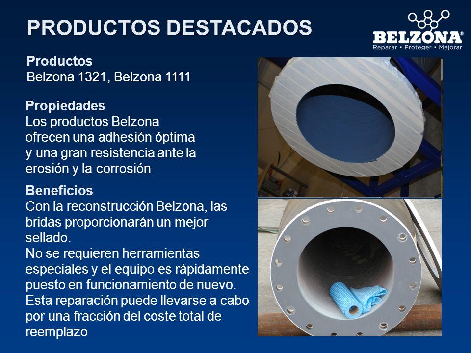 PRODUCTOS DESTACADOS Productos Belzona 1321, Belzona 1111 Propiedades