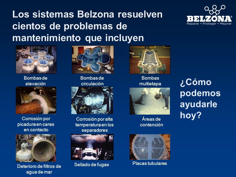 Los sistemas Belzona resuelven cientos de problemas de mantenimiento que incluyen