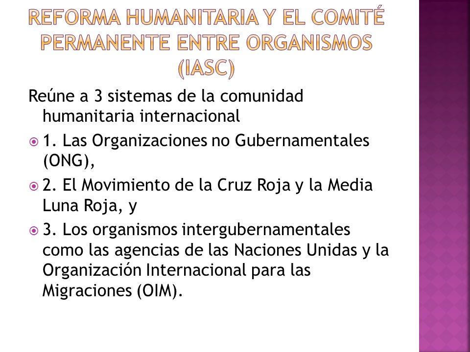 Reforma Humanitaria y el Comité Permanente entre Organismos (IASC)