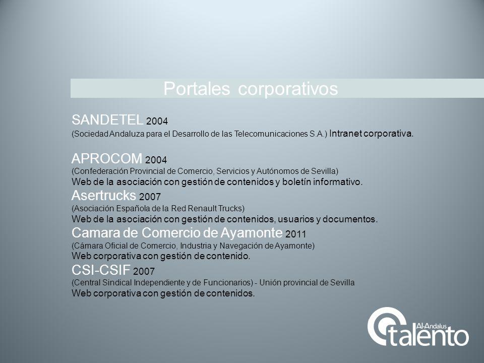 Portales corporativos