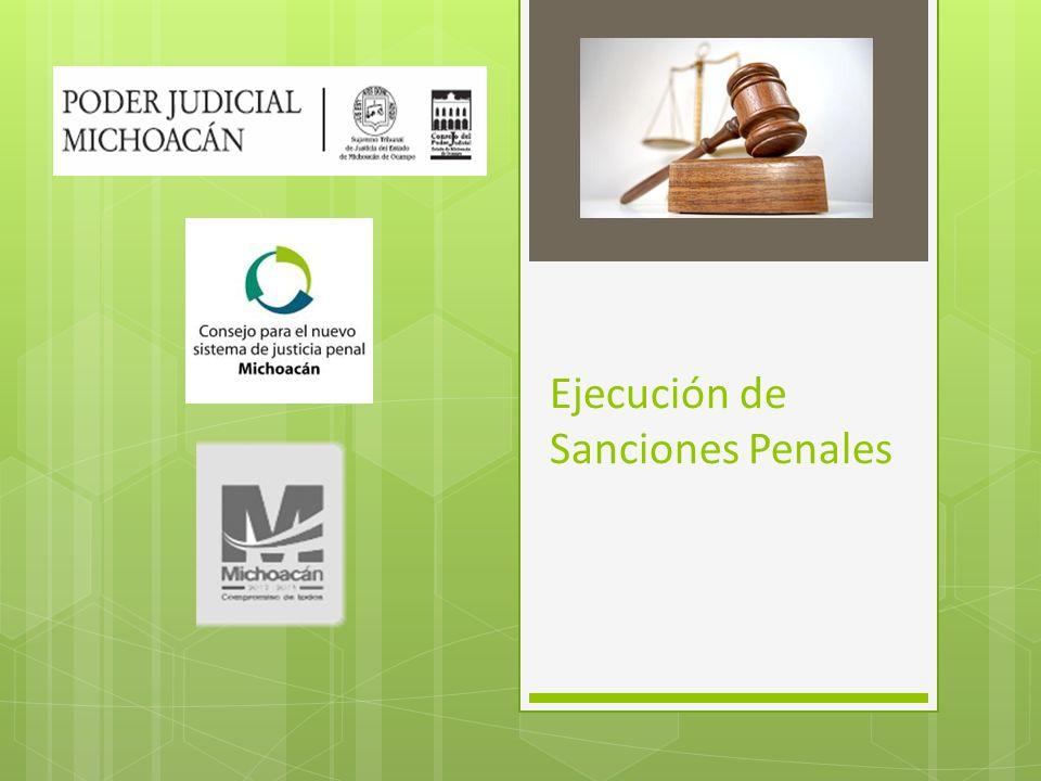 Ejecución de Sanciones Penales