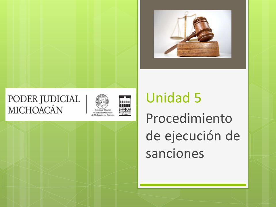 Procedimiento de ejecución de sanciones