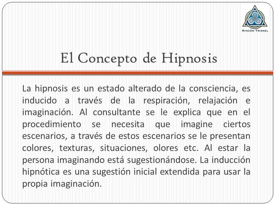 El Concepto de Hipnosis