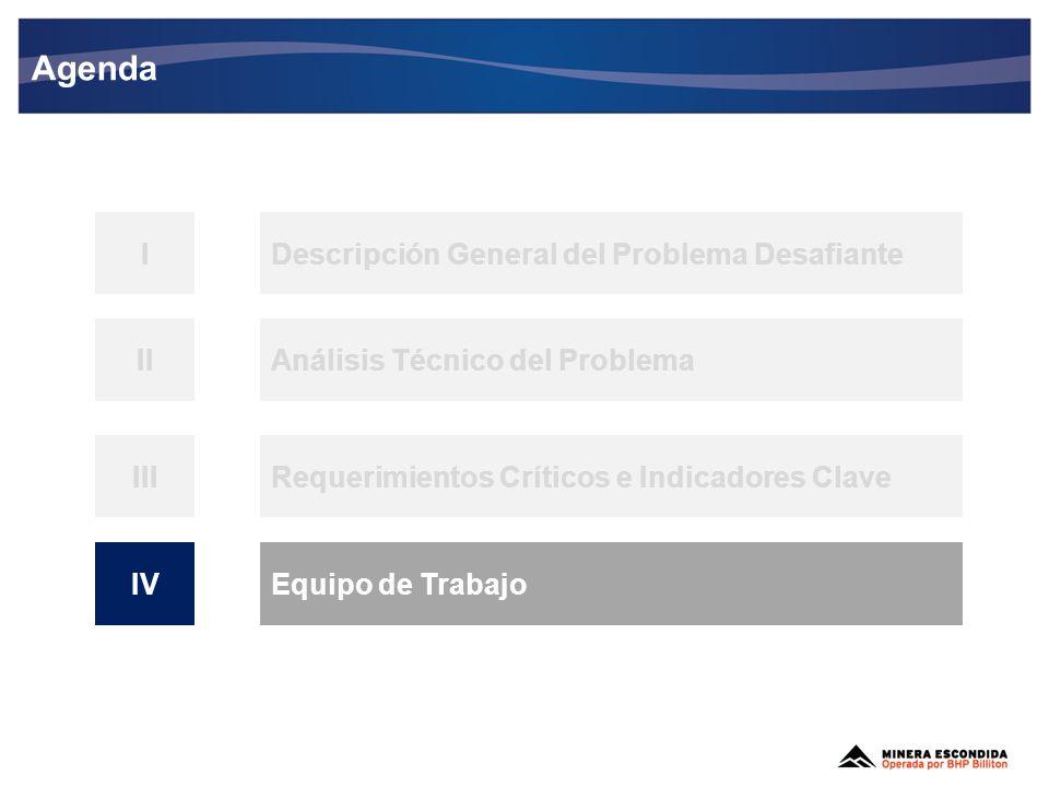 Agenda I Descripción General del Problema Desafiante II