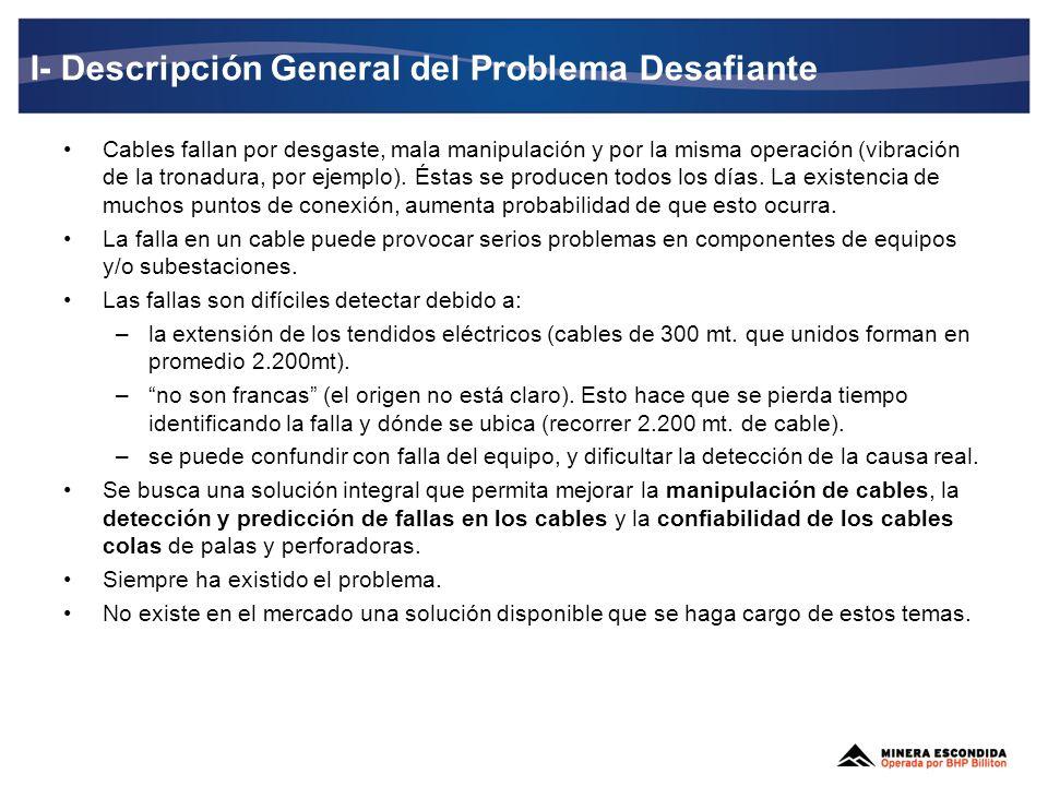 I- Descripción General del Problema Desafiante