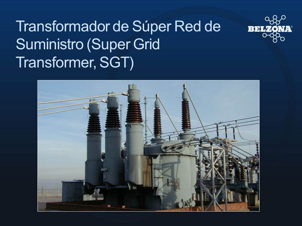 Transformador de Súper Red de Suministro (Super Grid Transformer, SGT)