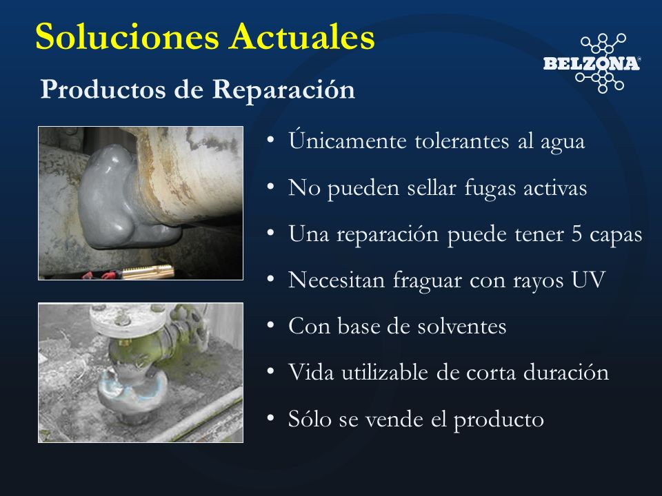 Soluciones Actuales Productos de Reparación