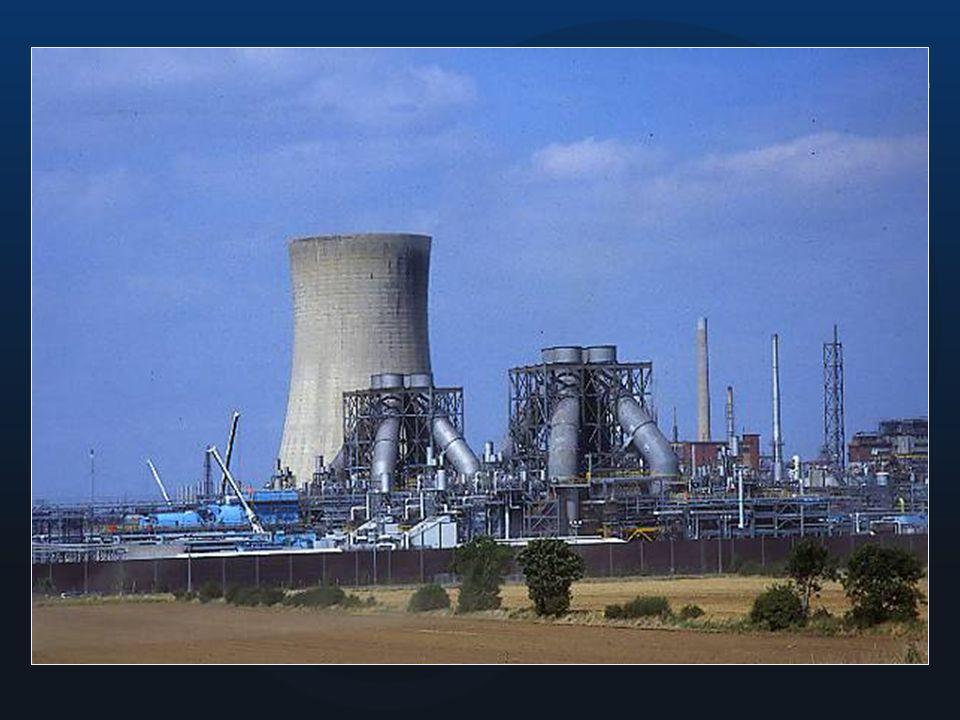 Centrales eléctricas a gas o petróleo...