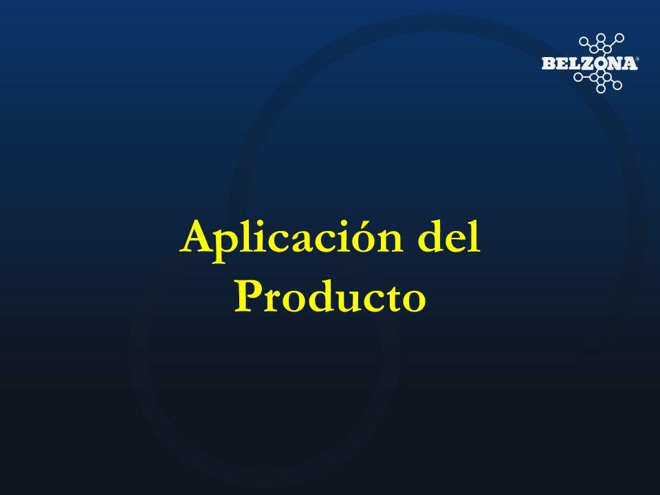 Aplicación del Producto