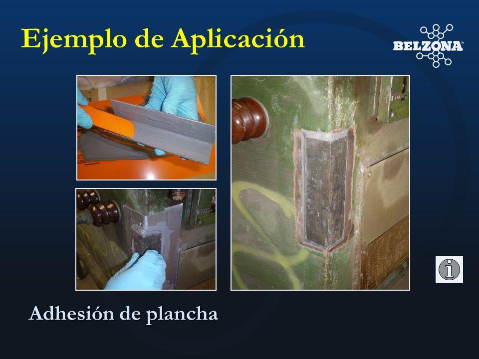 Ejemplo de Aplicación Adhesión de plancha