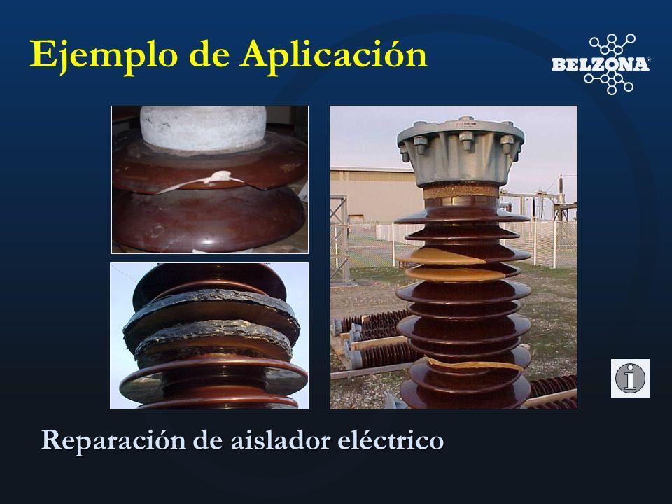 Ejemplo de Aplicación Reparación de aislador eléctrico