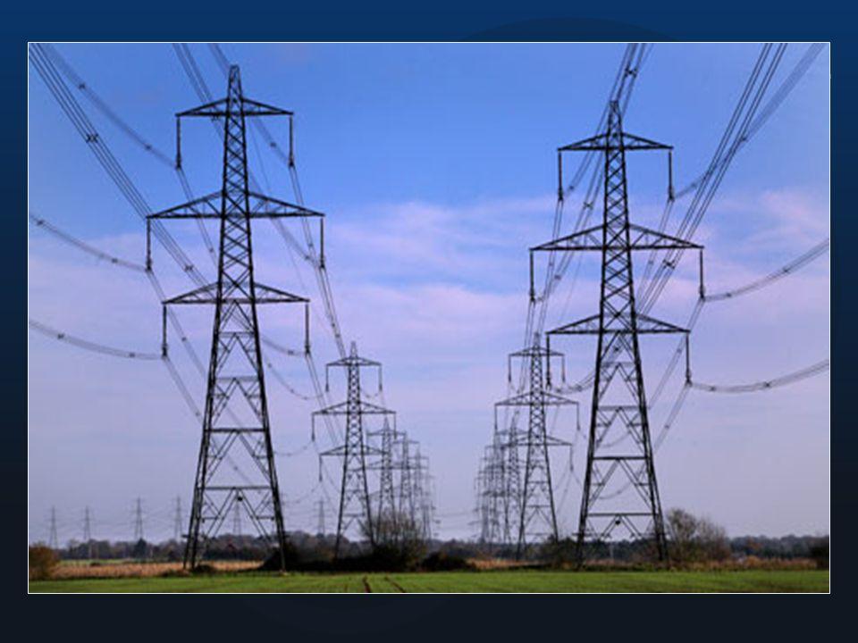 Torres eléctricas. ¿Por qué Porque cuando se ha generado la electricidad, esta tiene que ser trasladada hacia donde se le necesita.