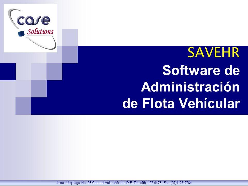 SAVEHR Software de Administración de Flota Vehícular