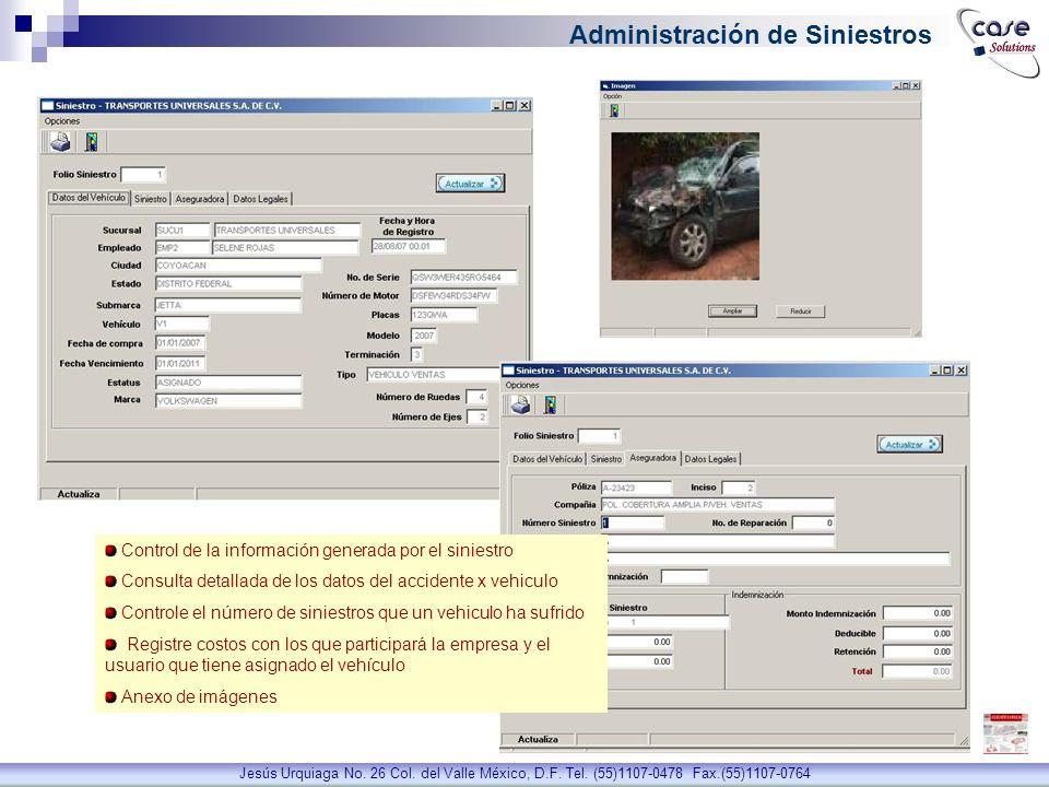 Administración de Siniestros