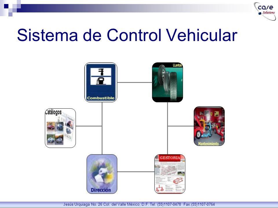 Sistema de Control Vehicular