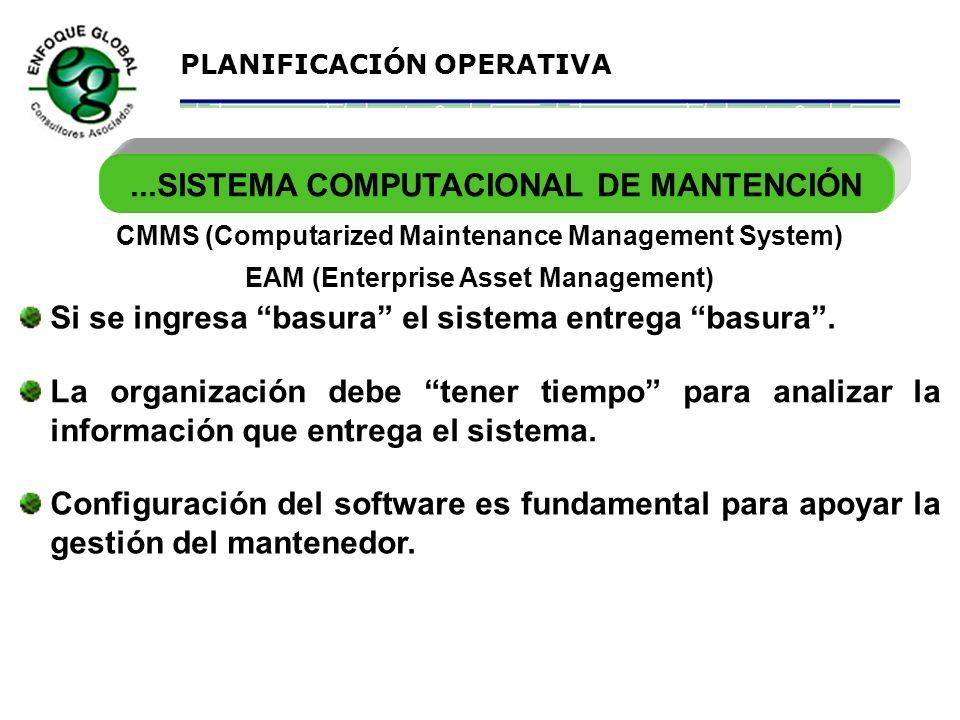 ...SISTEMA COMPUTACIONAL DE MANTENCIÓN