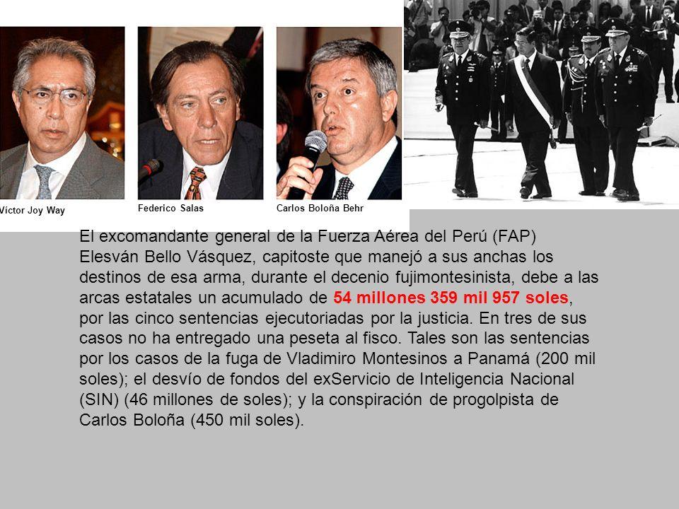Víctor Joy Way Federico Salas. Carlos Boloña Behr.