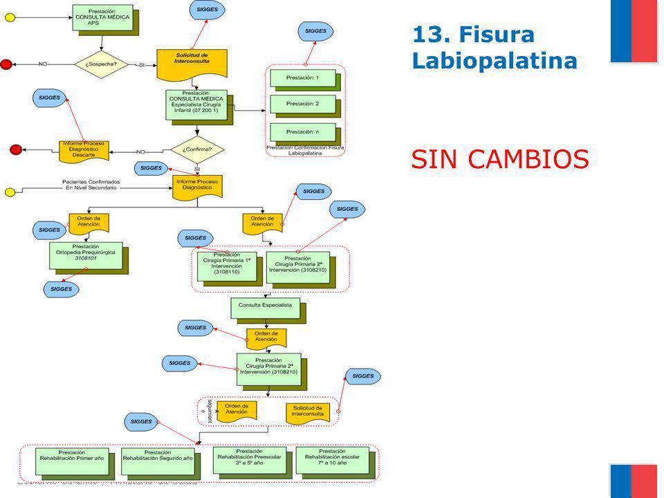 13. Fisura Labiopalatina SIN CAMBIOS