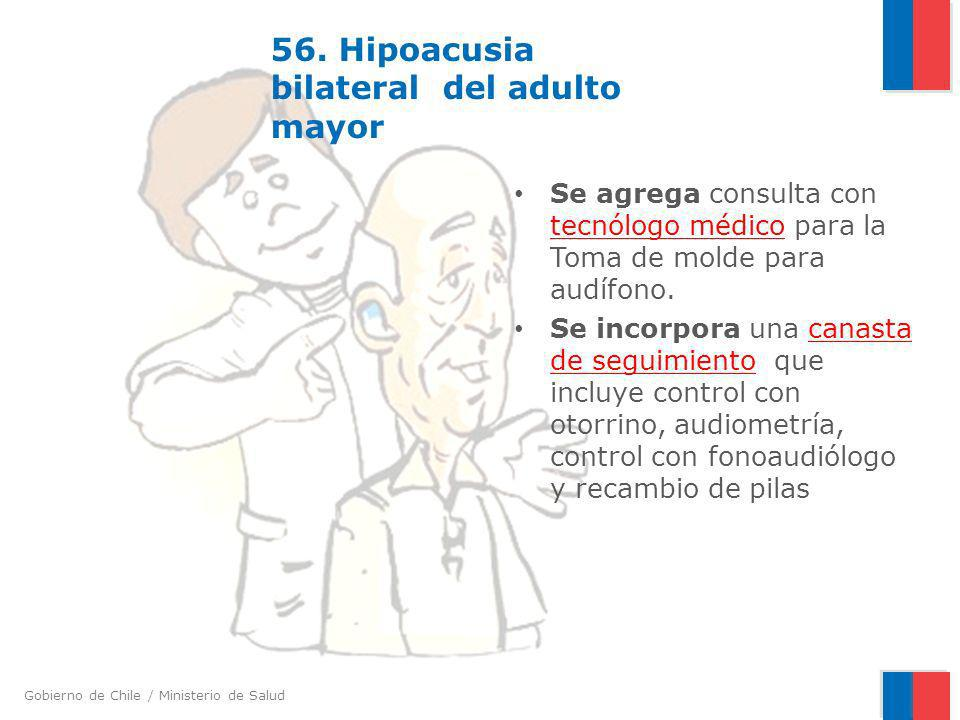56. Hipoacusia bilateral del adulto mayor