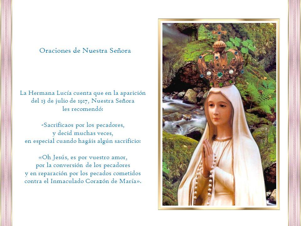 Oraciones de Nuestra Señora