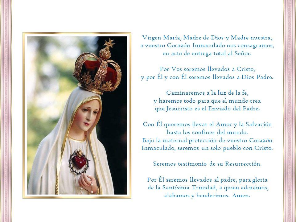 Virgen María, Madre de Dios y Madre nuestra,