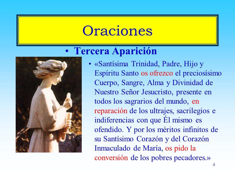 Oraciones Tercera Aparición