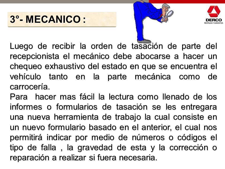 3°- MECANICO :