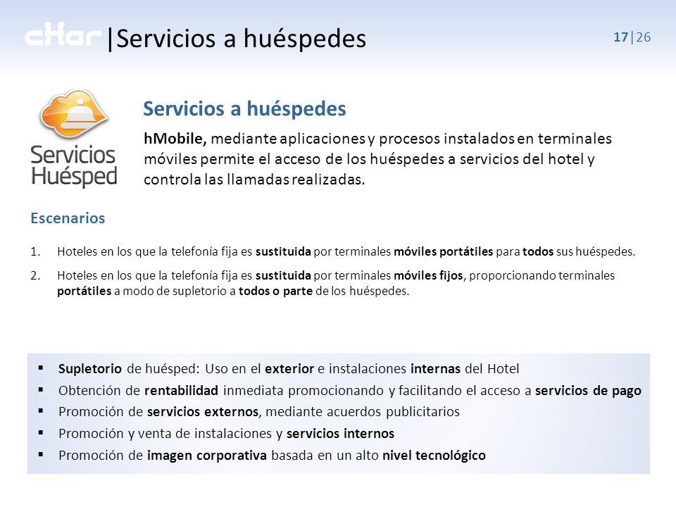 |Servicios a huéspedes