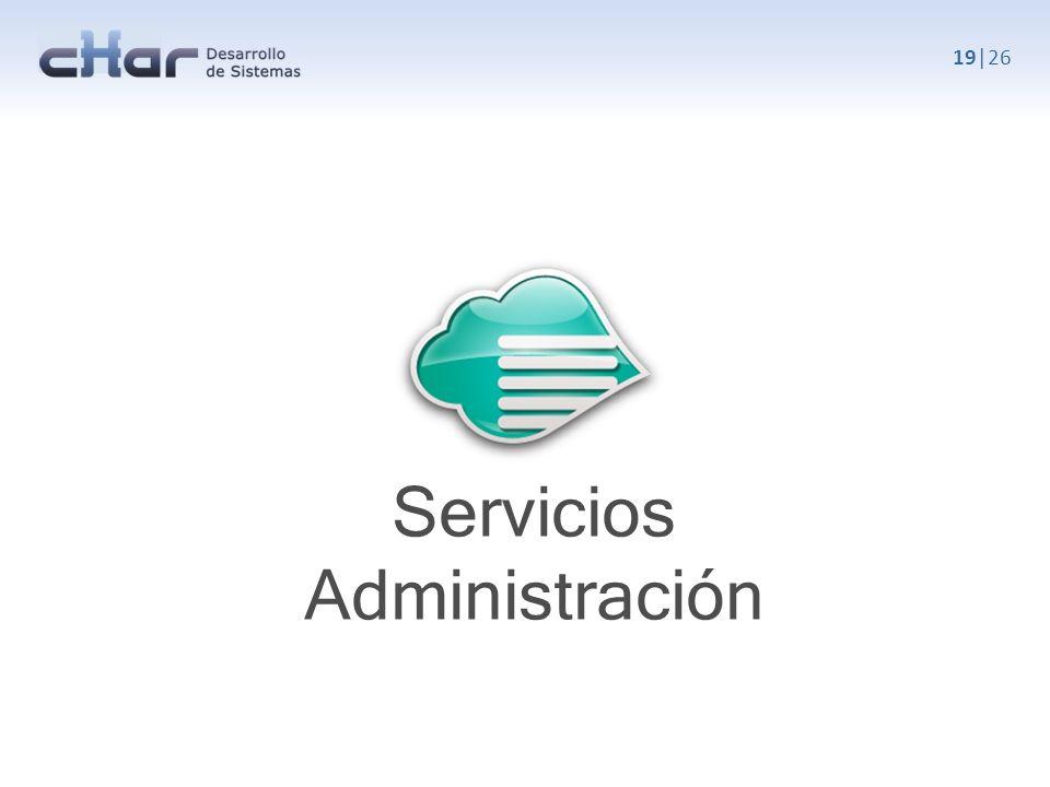 Servicios Administración