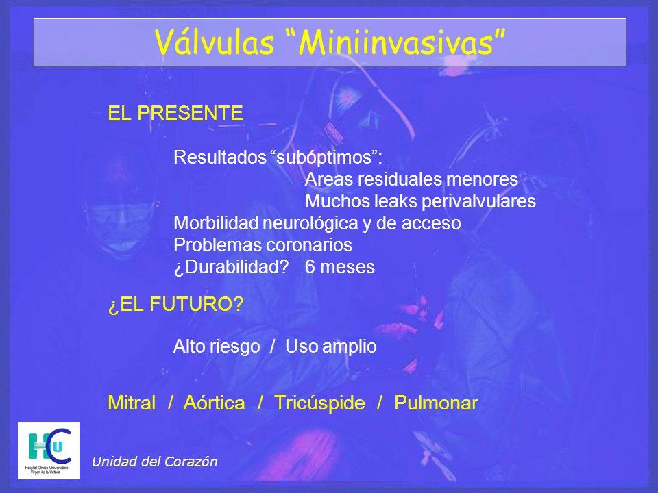 Válvulas Miniinvasivas