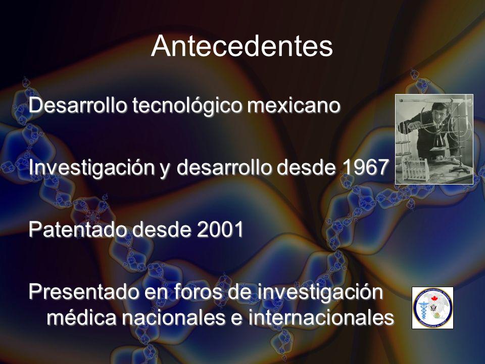 Antecedentes Desarrollo tecnológico mexicano
