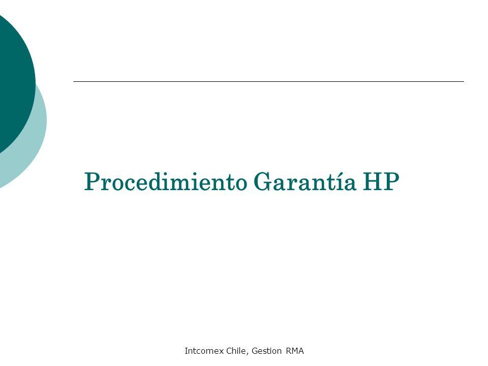 Procedimiento Garantía HP