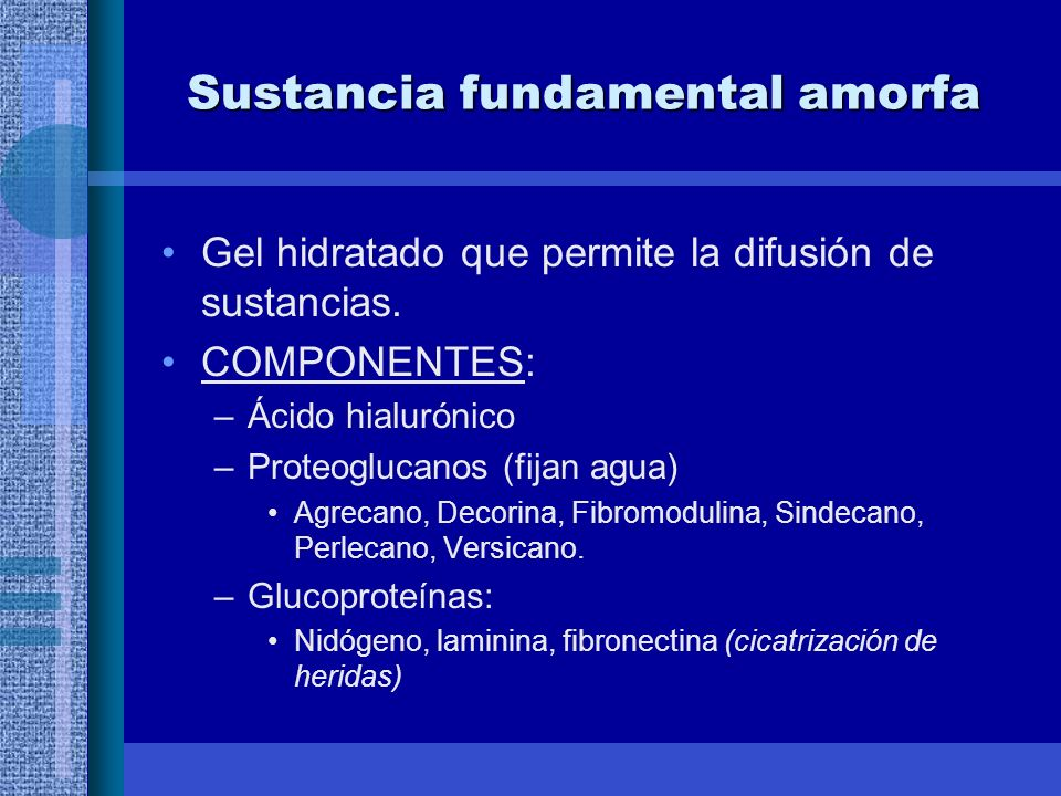Sustancia fundamental amorfa