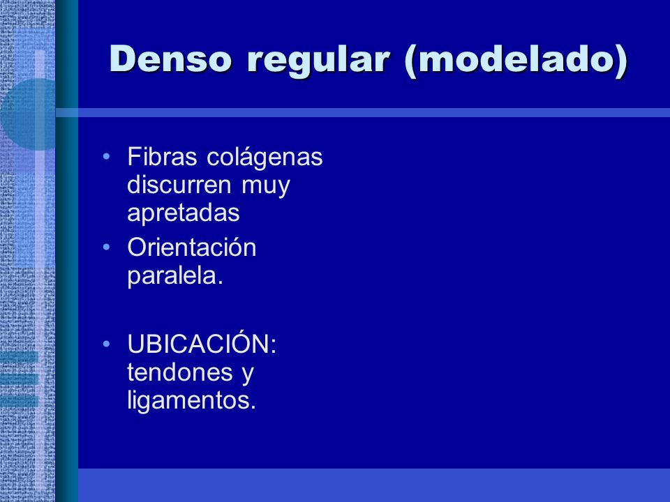 Denso regular (modelado)