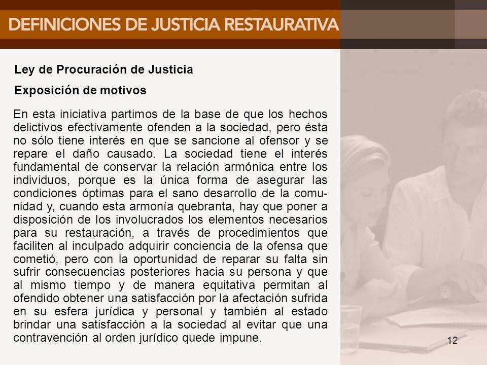 Ley de Procuración de Justicia
