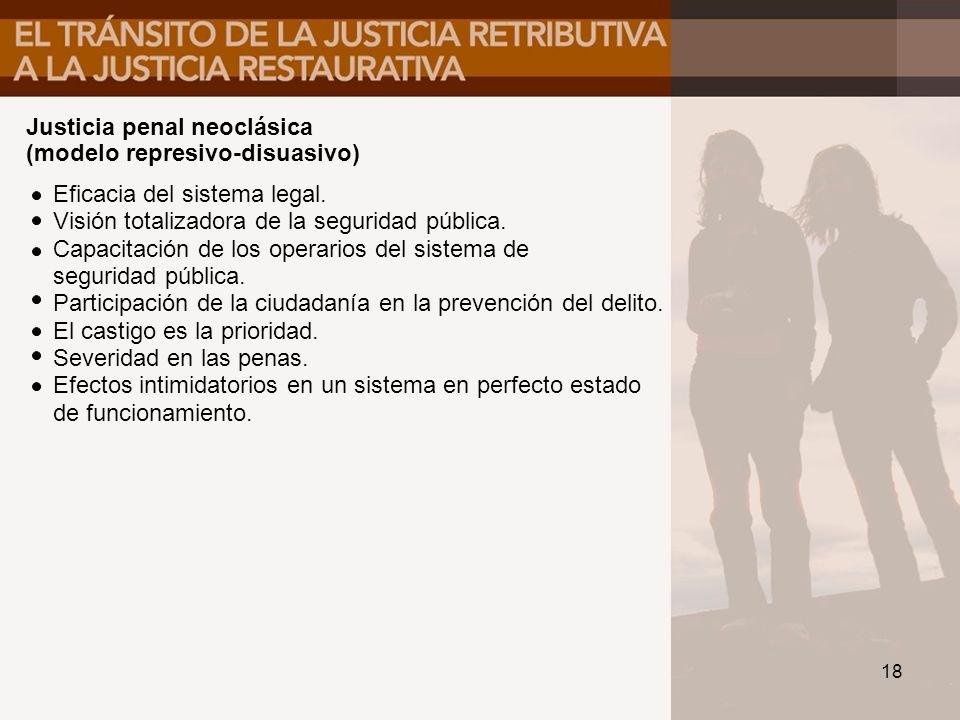 Justicia penal neoclásica