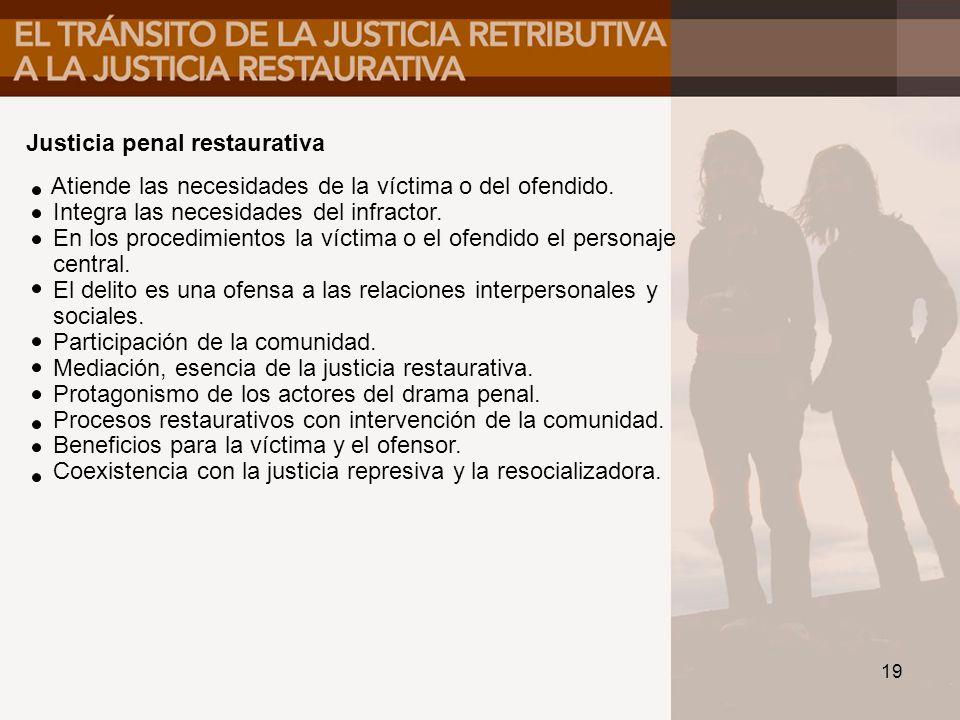 Justicia penal restaurativa